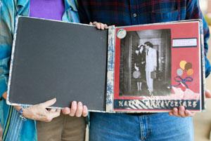 scrapbook album
